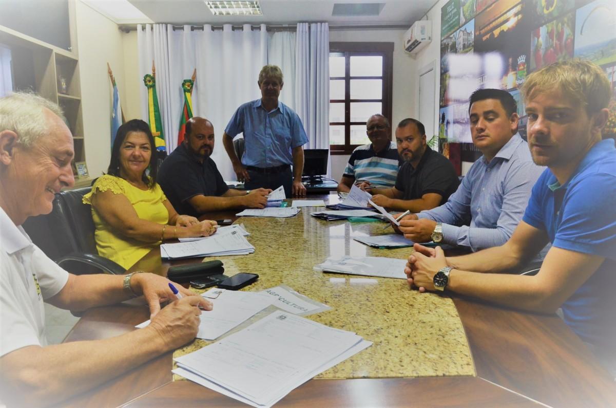 Administração municipal se reuniu para abordar os temas Educação Fiscal e Nota Fiscal Gaúcha