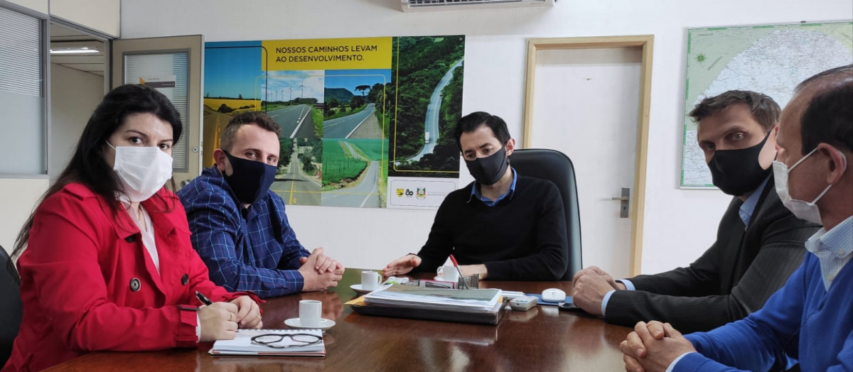 Administrações de Feliz e Alto Feliz tem reunião sobre as obras da ERS 846