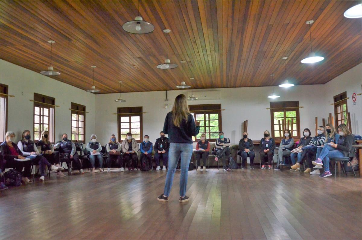 Agentes de Saúde participam do Projeto Educar para Salvar