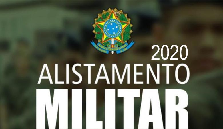 Alistamento militar 2020 é até 30 de junho