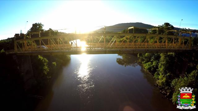 Comunicado: manutenção da ponte de ferro