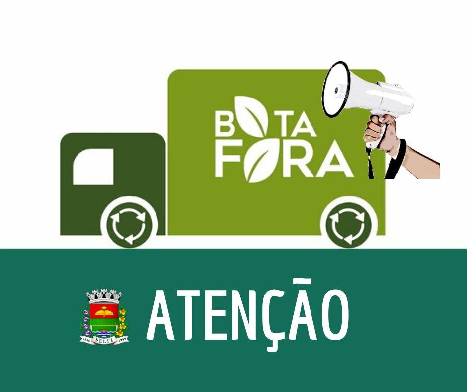 MUDANÇA NO BOTA-FORA