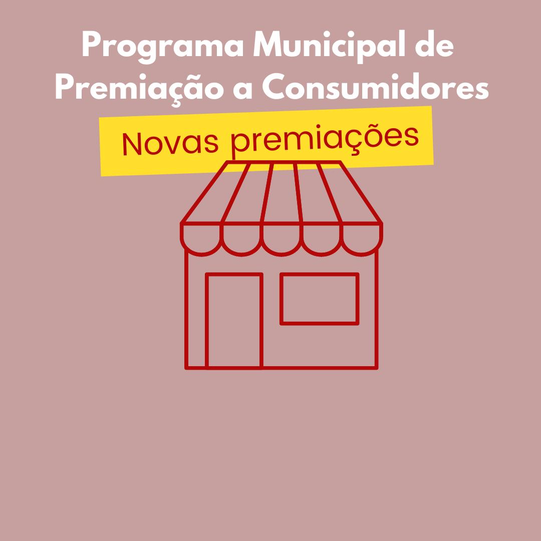 Novas premiações para incentivar o comércio local