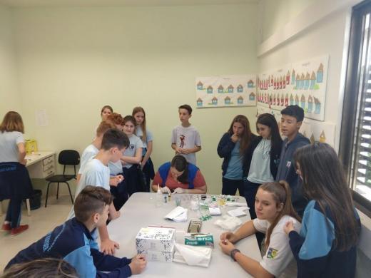 Equipe de Saúde palestrou sobre Sistema Circulatório