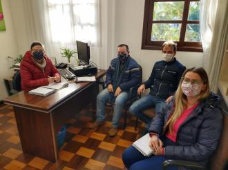 Administração Municipal se reúne para tratar do Auxílio Emergencial para a Cultura