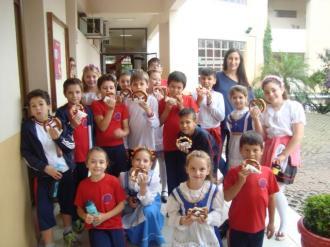 Alunos participaram da Semana das Línguas Estrangeiras