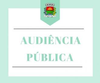 COMUNICADO - Audiência Pública Quadrimestral Metas Fiscais