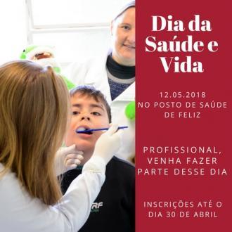 Dia da Saúde e Vida recebe inscrições de profissionais