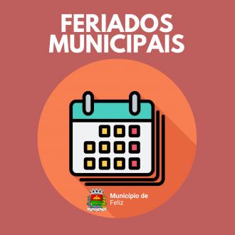 FERIADO MUNICIPAIS 2021