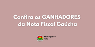 Ganhadores da Nota Fiscal Gaúcha