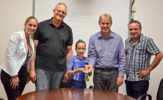 Isabele, a pequena grande vencedora da ginástica nacional
