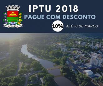 Prazo para IPTU com desconto é até 10 de março