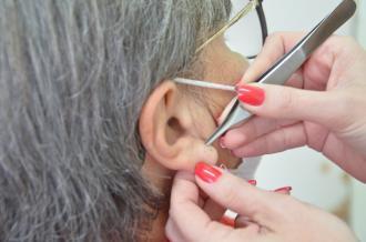 Saúde retoma o Projeto Auriculoterapia